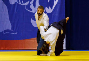 ivan novikov demonstrating aikido