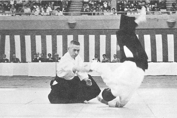 kisaburo osawa all japan aikido demonstration