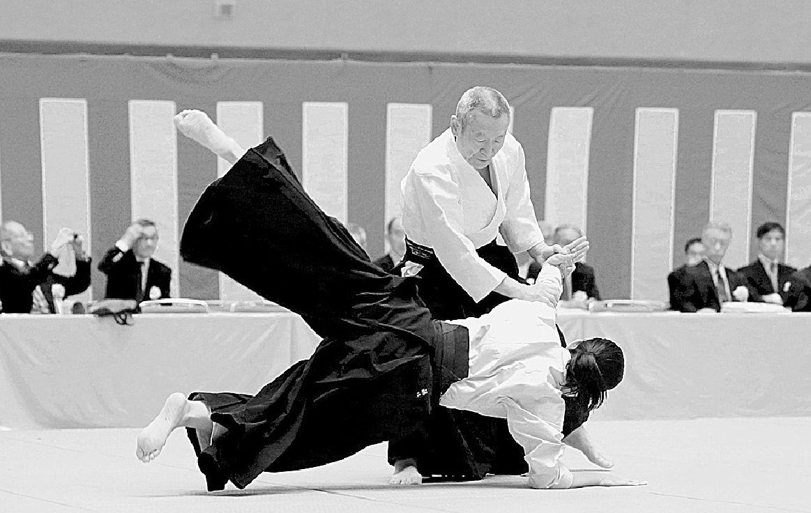 morito suganuma all japan aikido demonstration